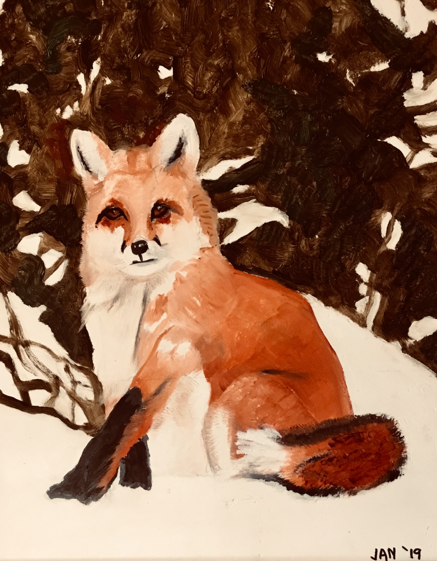 Jan Wall - Red Fox