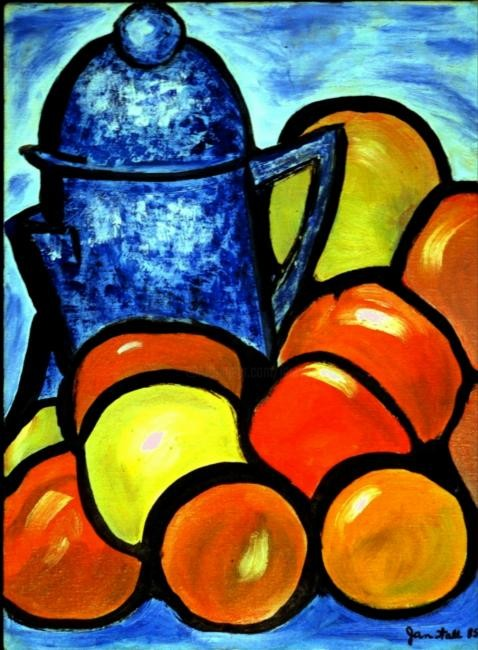 Jan Wall - Coffee Pot