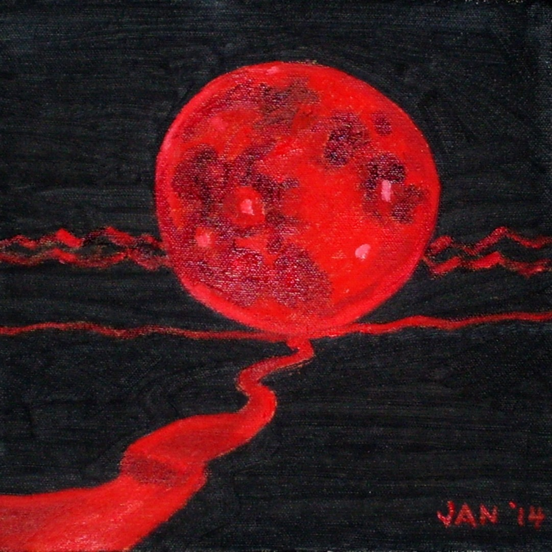 Jan Wall - Blood Moon